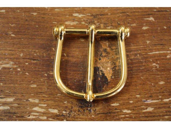 Jezdecká zlatá spona