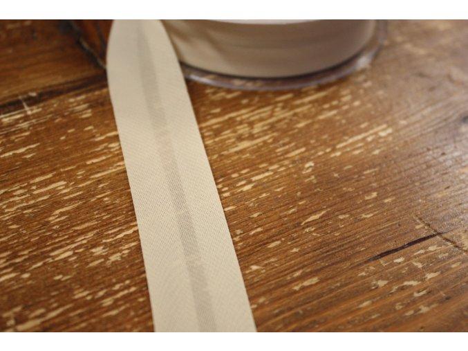 Šifonový šikmý proužek, 25mm
