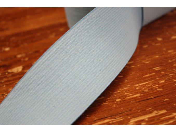Široká světle modrá guma, 45 mm