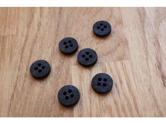 Černo-modrý knoflík Burberry Prorsum