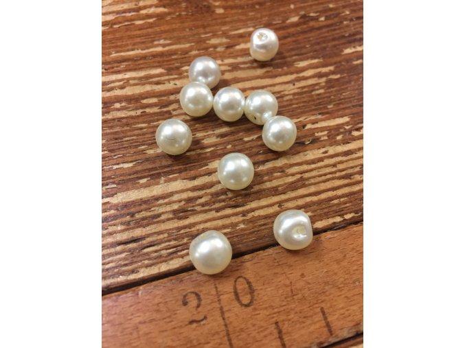 Knoflík perlička 9mm