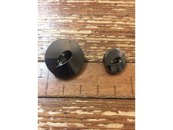 Kovový knoflík, 15mm a 22mm