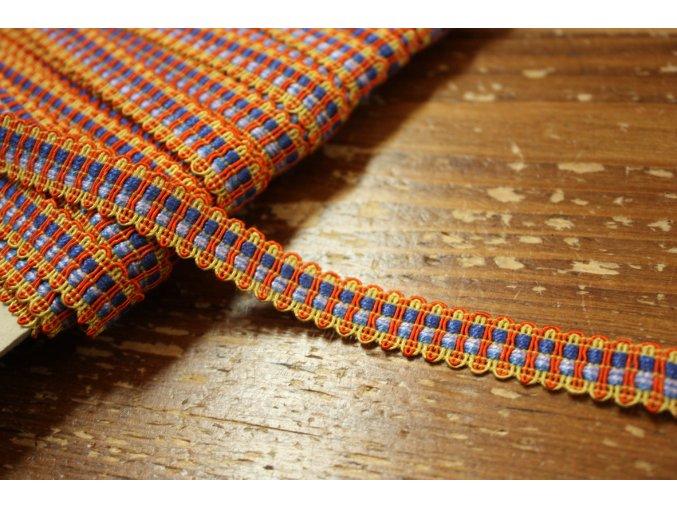 Bavlněný prýmek design Etro, 12mm