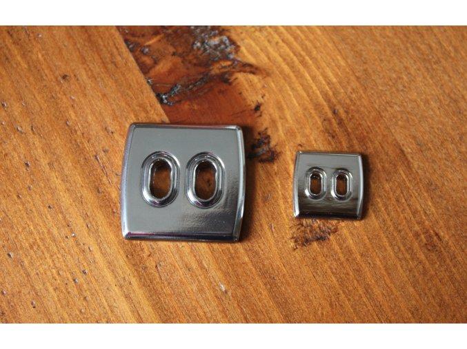 Kovový knoflík design Marni