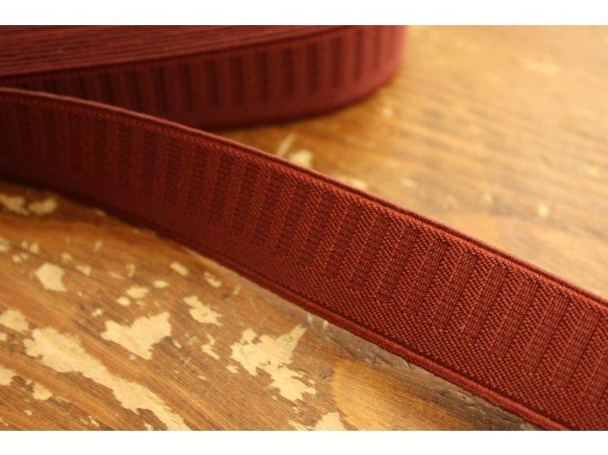 Cihlová pevnější guma, 25 mm