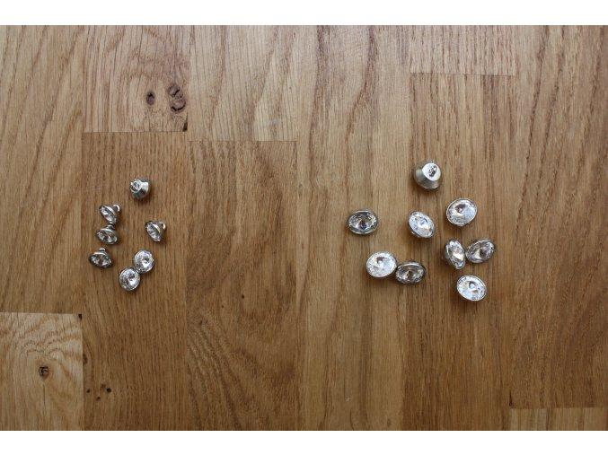 Swarovski knoflíky, 9mm a 12mm