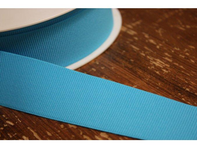 Tyrkysová rypsová guma, 35 mm