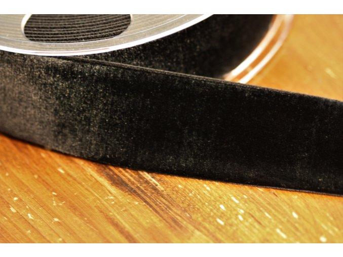 Černá sametová guma, 36 mm