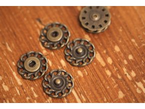 Mosazné patenty, 17,8mm