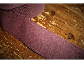 Světle borůvková rypsová stuha, 50 mm