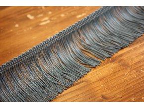 Šedo-modré třásně, 7 cm