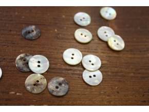 Perleťový knoflík, 15mm