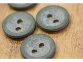Kabátový knoflík Green tea, 33 mm