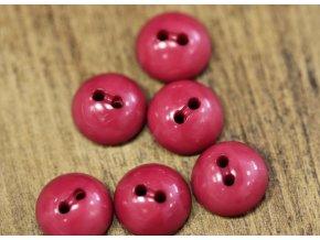 Košilový knoflík- půlkulička v odstínu pomačkané borůvky