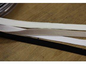 Prádlová jemná guma, 9mm