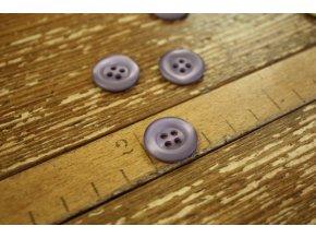 Levandulový knoflík, 18 mm