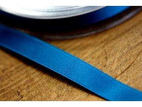 Jasně modrá saténová stuha, 10 mm