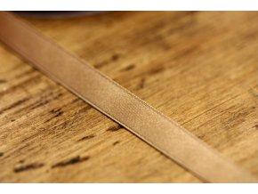 Béžová saténová stuha, 10 mm