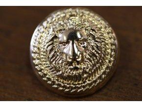 Zlatý knoflík se lvem, 25mm, 15mm, 13mm