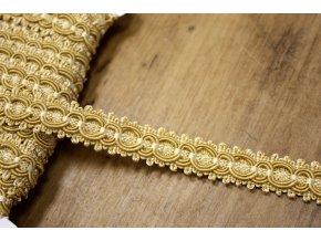 Zlatavý prýmek, 15 mm