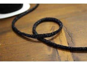 Kulatý černý provaz
