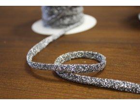 Kulatý pružný provaz s lurexem