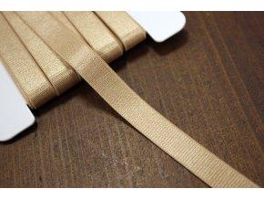 Béžová prádlová guma, 12 mm