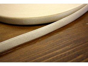 Béžová prádlová guma, 10 mm
