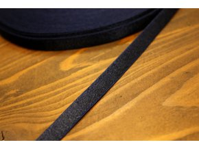 Tmavě modrá prádlová, ramínková guma, 10 mm