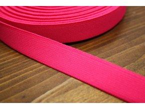 Jasně růžová guma, 20 mm
