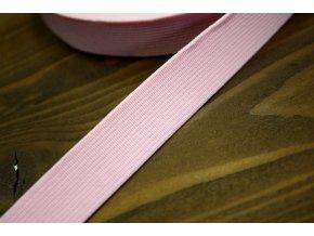 Jemně růžová guma, 20 mm