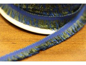 Bavlněný prýmek s třepením, 13 mm