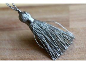 Perleťové střapce, 6 cm