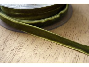 Pistáciová sametová guma, 9 mm