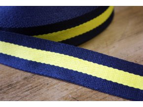 Modro-žlutý popruh
