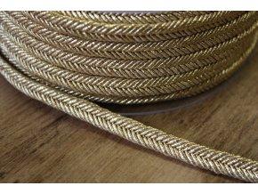 """Zlatý provaz""""copánek"""", 10mm"""