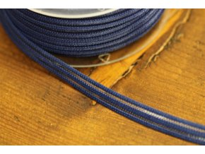 Modrá guma s průsvitným pruhem, 10mm