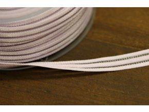 Fialová guma s průsvitným pruhem, 10mm