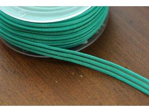Zelená guma s průsvitným pruhem, 10mm