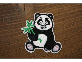"""Nažehlovací aplikace """"panda"""""""
