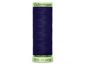 Tmavě modrá prošívací nit č.310