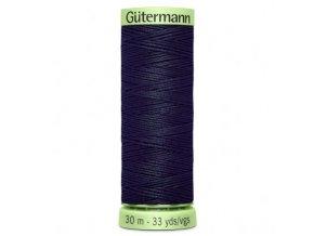 Tmavě modrá prošívací nit č.339