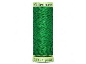 Výrazně zelená prošívací nit č.396