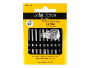 25 Handsewing needles with threader