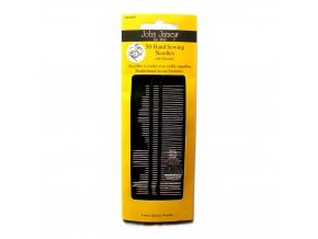 50 hand sewing needles with threader