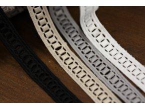 Geometrická krajka (5 barev), 16mm