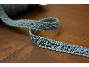 Špinavě modrý prýmek ve stylu Chanel