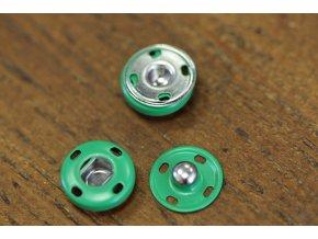 Zelené hliníkové patenty, 14 mm