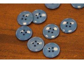 Špinavě modrý knoflík, 20mm