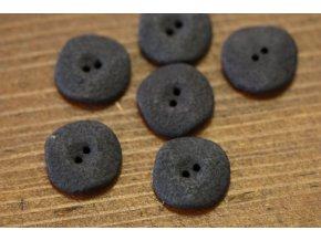 "Hnědý knoflík  ""Chocolate"", 23 mm"